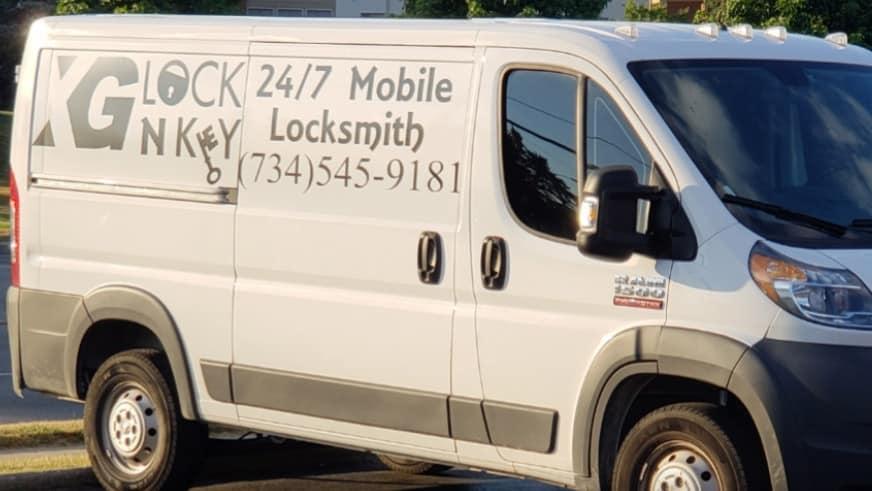 image of XG Lock N Key locksmith truck