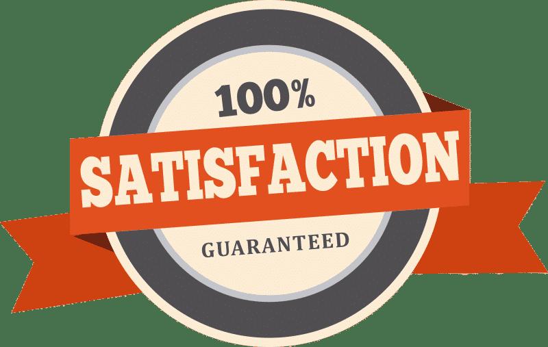 100% Satisfaction Guaranteed icon